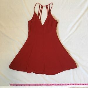 Forever 21 Small Red Dress